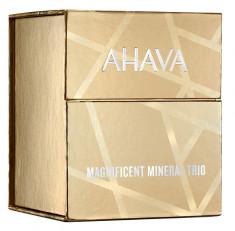 AHAVA Набор Великолепное минеральное трио классика (крем для рук 40 мл, крем для тела 40 мл, гель для душа 40 мл) / DEADSEA WATER