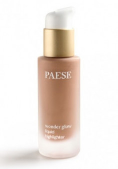 Кремовый хайлайтер PAESE WONDER GLOW LIQUID HIGHLIGHTER тон Bronzed 20мл