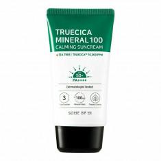 крем солнцезащитный some by mi truecica mineral 100 calming suncream spf 50pa++++