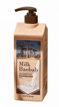 Шампунь с ароматом белого мускуса Milk Baobab Original Shampoo White Musk 1000мл
