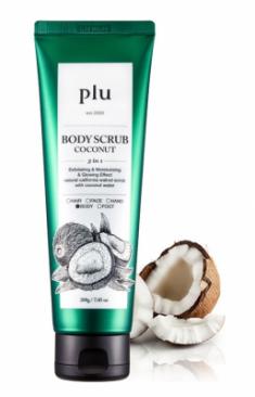 Скраб для тела с кокосом PLU Body Scrub Coconut 200 г