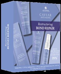 ALTERNA Набор для волос Регенерация и мгновенное восстановление / Caviar Restructuring Bond Repair Consumer Trial Kit