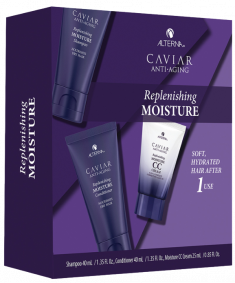 ALTERNA Набор для волос Комплексная биоревитализация / Caviar Replenishing Moisture Consumer Trial Kit