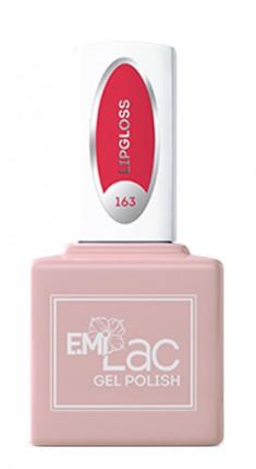 E.MI 163 FQ гель-лак для ногтей, Блеск для губ / E.MiLac 6 мл