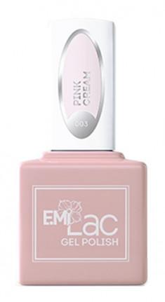 E.MI 003 гель-лак для ногтей, Розовые сливки / E.MiLac 6 мл