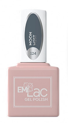 E.MI 124 TGR гель-лак для ногтей, Туманная луна / E.MiLac 6 мл