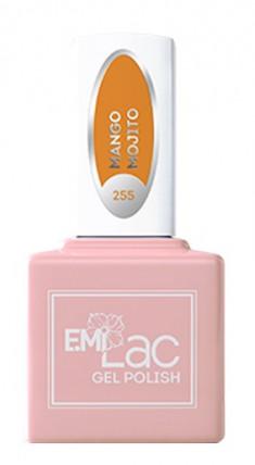 E.MI 255 GL гель-лак для ногтей, Манговый мохито / E.MiLac 6 мл