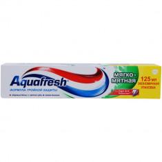 Аквафреш зубная паста 3+ Мягко-Мятная 125мл AQUAFRESH