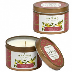 Aroma Naturals Свеча Романтика 80 г банка