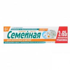 Зубная паста Семейная ромашка и тысячелистник 130гр. Свобода