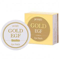 Petitfee патчи для век гидрогелевые Premium Gold & EGF Hydrogel Eye Patch 60шт