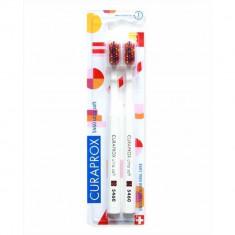 Curaprox щетки зубные ультрамягкие набор Duo Pop Art №2