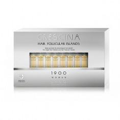 Лабо Кресцина 1900 для женщин лосьон против выпадения волос Усиленная формула флаконы по 3,5мл №10+10 Crescina