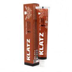Klatz BRUTAL ONLY Зубная паста для мужчин  Терпкий коньяк 75мл