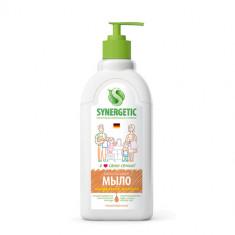 Synergetic Жидкое мыло Миндальное молочко 500 мл