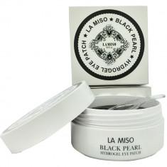 La Miso Гидрогелевая маска с гиалуроновой кислотой для кожи вокруг глаз банка 60шт