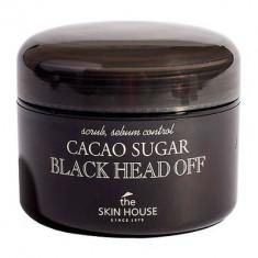 The Skin House Скраб против черных точек с коричневым сахаром и какао 50 г