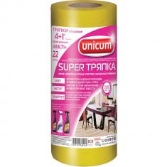 Unicum Супер тряпка универсальная 4+1м в рулоне