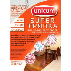 Unicum Тряпка для пола Premium 50*80см 1 шт
