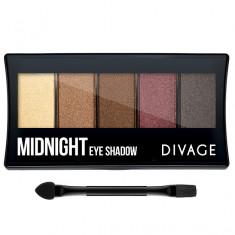 Divage Палетка теней для век Palettes Eye Shadow Midnight