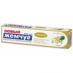 Новый жемчуг Зубная паста с Ромашкой гелевая 100мл НОВЫЙ ЖЕМЧУГ