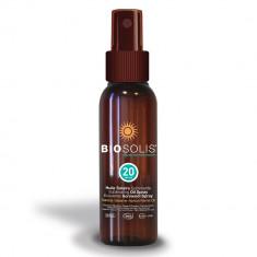 Biosolis Солнцезащитное масло-спрей SPF20 Увлажняющее сублимированное 100 мл