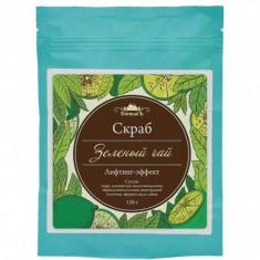 Спивакъ Скраб для тела сухой Зеленый чай 150 г СПИВАКЪ