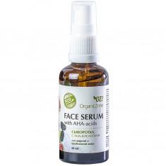 OZ! OrganicZone Сыворотка для лица с AHA-кислотами, для жирной и проблемной кожи 50 мл OZ! Organic Zone