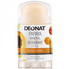 DeoNat Дезодорант кристалл с экстрактом папайи 100г