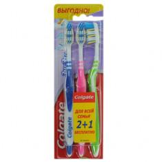 Колгейт Зубная щетка Зигзаг плюс средняя 2 + 1 бесплатно COLGATE