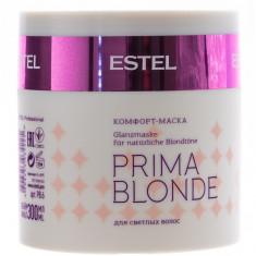Estel Prima Blonde Маска-комфорт для светлых волос 300 мл