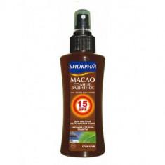 Биокрим масло солнцезащитное SPF15 135 мл