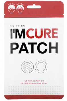 KARATICA Патчи точечные анти акне / I'm Cure Patch 6 пар
