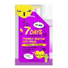 7Days Пилинг-скатка для Взбалмошной и Игривой со спелым манго 25мл