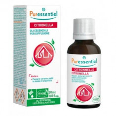 Puressentiel Комплекс эфирных масел Цитронелла + 3 эфирных масла 30мл