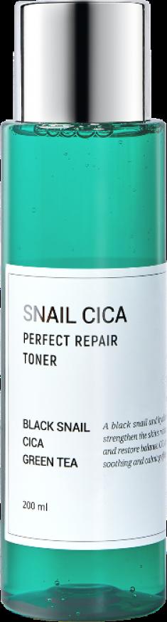 ESTHETIC HOUSE Тонер для лица с муцином улитки и центеллой / Snail Cica Perfect Repair Toner 200 мл