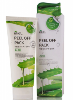 Маска-пленка с экстрактом алоэ EKEL Peel off pack Aloe 180мл