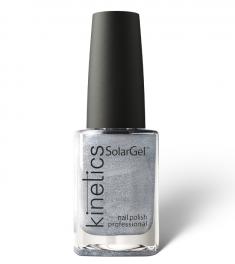 KINETICS 487 лак профессиональный для ногтей / SolarGel Polish Blank Space 15 мл