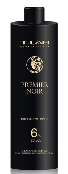 T-LAB PROFESSIONAL Крем-проявитель 6% 20 Vol / Premier Noir Cream developer 1000 мл