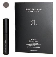 Гель для бровей с пептидами тонирующий RevitaLash Cosmetics Hi-Def Tinted Brow Gel темно-коричневый, Dark Brown 3 мл