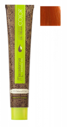 Краска для волос Macadamia Oil Cream Color 7.44 ЯРКИЙ МЕДНЫЙ СРЕДНИЙ БЛОНДИН 100мл