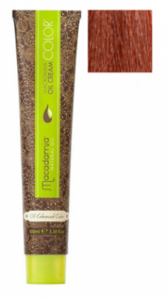 Краска для волос Macadamia Oil Cream Color 9.34 ОЧЕНЬ СВЕТЛЫЙ ЗОЛОТИСТЫЙ МЕДНЫЙ БЛОНДИН 100мл