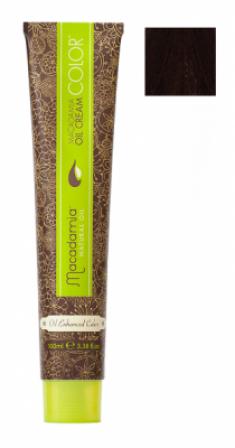 Краска для волос Macadamia Oil Cream Color 5.55 ЯРКИЙ КРАСНОЕ ДЕРЕВО СВЕТЛО КАШТАНОВЫЙ 100мл