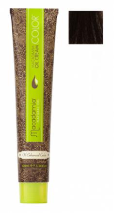 Краска для волос Macadamia Oil Cream Color 4.23 СРЕДНИЙ ТЕПЛЫЙ ШОКОЛАДНЫЙ КАШТАНОВЫЙ 100мл