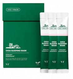 ночная маска для лица vt cosmetics cica moisture sleeping mask