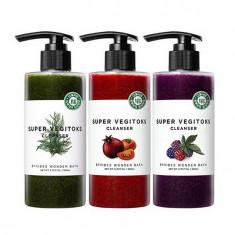 очищающий детокс-гель с экстрактами wonder bath super vegitoks cleanser