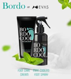 Крем для ног ОХЛАЖДАЮЩИЙ EVAS Bordo Cool Foot Care Cream 75 г