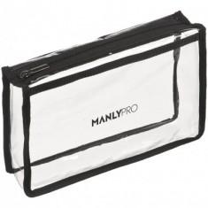 Косметичка визажиста прозрачная Manly Pro КЕ64
