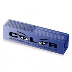 Color, Краска для бровей и ресниц, иссиня-черная