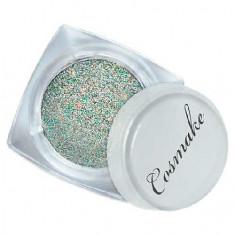 Cosmake, Блестки декоративные №17, серебро/мульти